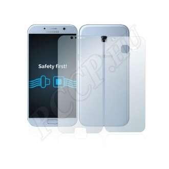 Samsung Galaxy A5 (2017) elő- és hátlap kijelzővédő fólia