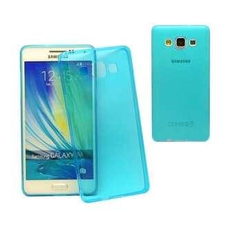 Samsung Galaxy A5 kék ultravékony szilikon hátlap