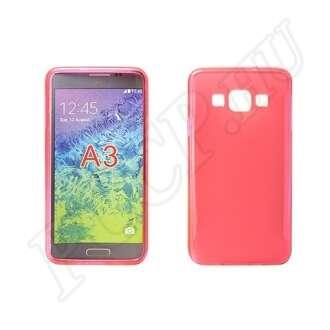 Samsung Galaxy A5 pink vékony szilikon hátlap