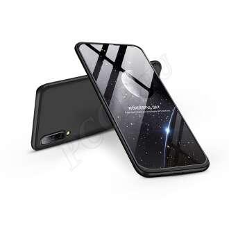 Samsung Galaxy A50 fekete három részből álló védőtok