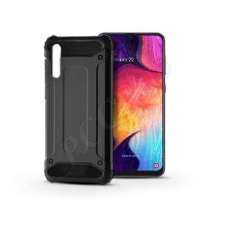 Samsung Galaxy A50 fekete ütésálló hátlap