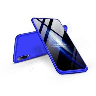 Samsung Galaxy A50 kék három részből álló védőtok
