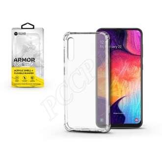 Samsung Galaxy A50átlátszó szilikon hátlap