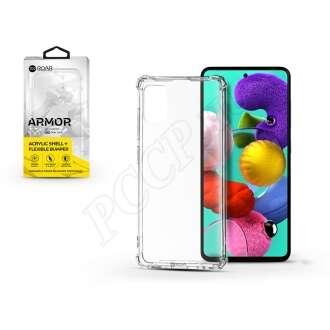 Samsung Galaxy A51 átlátszó szilikon hátlap
