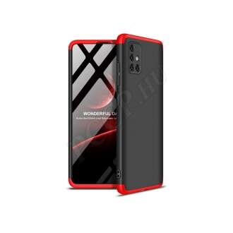 Samsung Galaxy A51 fekete/piros hátlap
