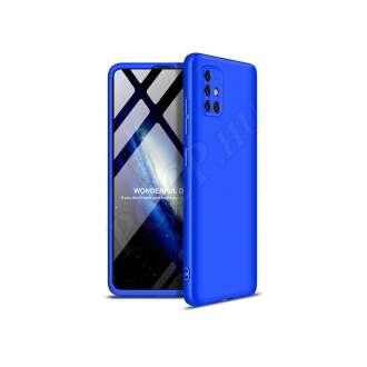 Samsung Galaxy A51 kék három részből álló védőtok