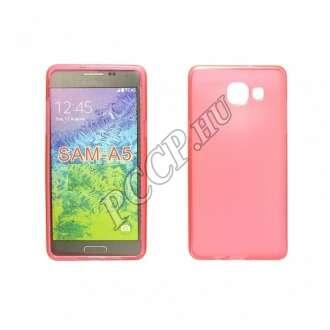 Samsung Galaxy A510 pink vékony szilikon hátlap