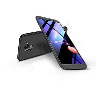 Samsung Galaxy A6 (2018) fekete három részből álló védőtok