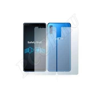 Samsung Galaxy A7 (2018) elő- és hátlap kijelzővédő fólia