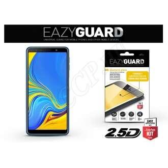 Samsung Galaxy A7 (2018) gyémántüveg kijelzővédő fólia fekete színben