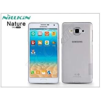 Samsung Galaxy A7 szürke szilikon hátlap