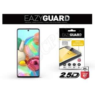 Samsung Galaxy A71 fekete üveg kijelzővédő fólia