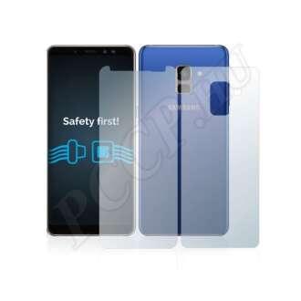 Samsung Galaxy A8 (2018) elő- és hátlap kijelzővédő fólia