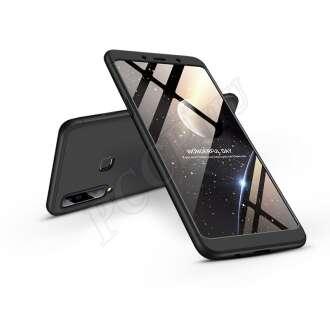 Samsung Galaxy A9 (2018) fekete három részből álló védőtok