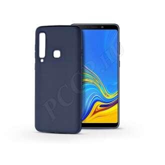 Samsung Galaxy A9 (2018) kék szilikon hátlap