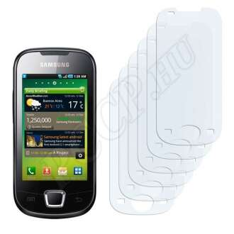 Samsung Galaxy Apollo I5801 kijelzővédő fólia