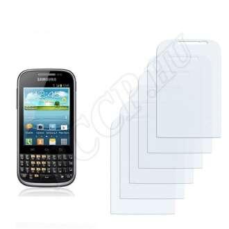 Samsung Galaxy Chat kijelzővédő fólia