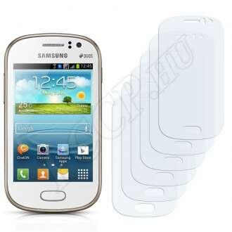 Samsung Galaxy Fame Duos S6812 kijelzővédő fólia