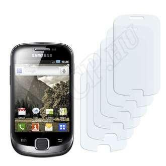Samsung Galaxy Fit S5670 kijelzővédő fólia
