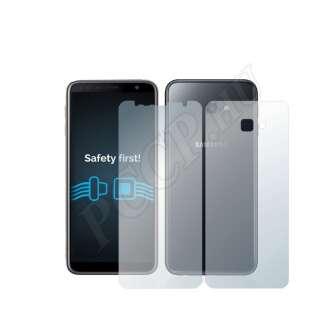 Samsung Galaxy J4 Plus (elő- és hátlap) kijelzővédő fólia