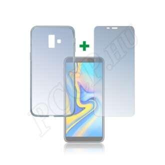 Samsung Galaxy J6 Plus védőszett (hátlap + üveg kijelzővédő fólia)