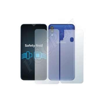 Samsung Galaxy M20 (elő- és hátlap) kijelzővédő fólia