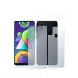 Samsung Galaxy M21 (elő- és hátlap) kijelzővédő fólia