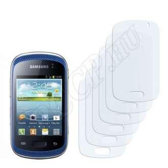 Samsung Galaxy Music S6010 kijelzővédő fólia
