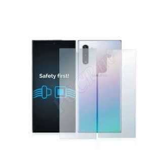 Samsung Galaxy Note 10 (elő- és hátlap) kijelzővédő fólia