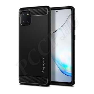Samsung Galaxy Note 10 Lite fekete hátlap