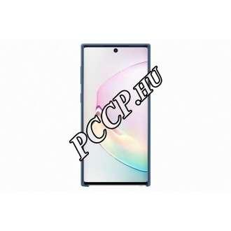 Samsung Galaxy Note 10 Plus kék szilikon hátlap
