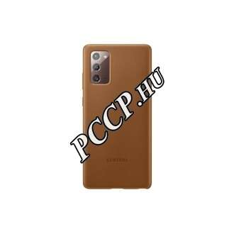 Samsung Galaxy Note 20 barna bőr hátlap