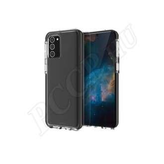 Samsung Galaxy Note 20 fekete szilikon hátlap
