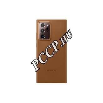 Samsung Galaxy Note 20 Ultra barna bőr hátlap