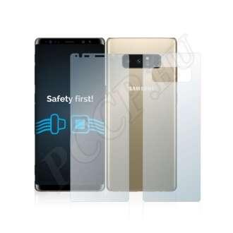 Samsung Galaxy Note 8 (elő- és hátlap) kijelzővédő fólia