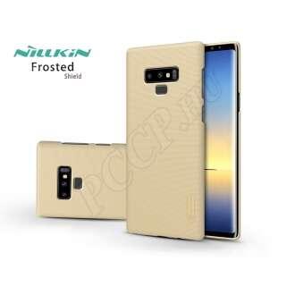 Samsung Galaxy Note 9 gold hátlap kijelzővédő fóliával