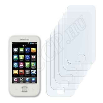 Samsung Galaxy Player 50 kijelzővédő fólia