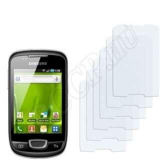 Samsung Galaxy Pop kijelzővédő fólia