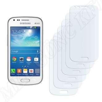 Samsung Galaxy S Duos 2 S7582 kijelzővédő fólia