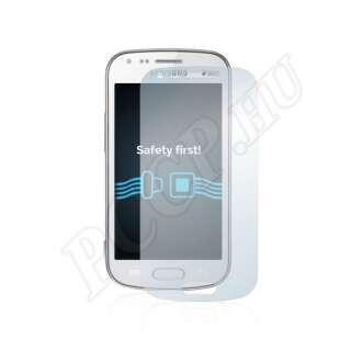 Samsung Galaxy S Duos S7562 kijelzővédő fólia