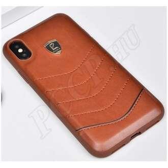 Samsung Galaxy S10 barna prémium hátlap