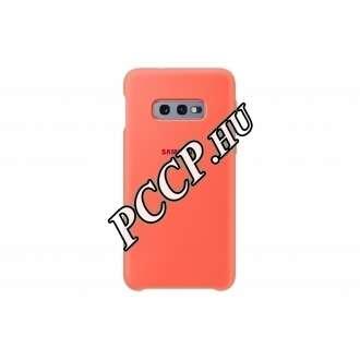 Samsung Galaxy S10 E pink szilikon hátlap