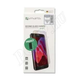 Samsung Galaxy S10 fekete teljes kijelzős üveg kijelzővédő fólia