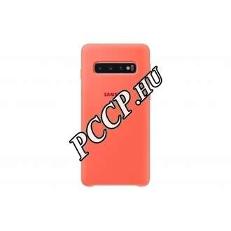 Samsung Galaxy S10 pink szilikon hátlap