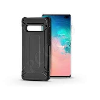 Samsung Galaxy S10 Plus fekete ütésálló hátlap