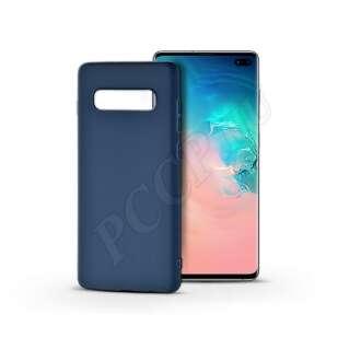 Samsung Galaxy S10 Plus kék szilikon hátlap