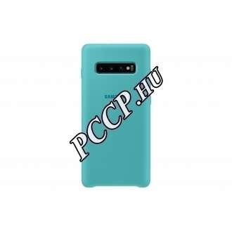 Samsung Galaxy S10 Plus zöld szilikon hátlap