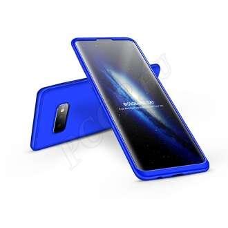 Samsung Galaxy S10E kék három részből álló védőtok