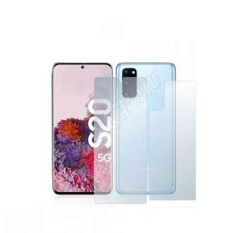 Samsung Galaxy S20 5G (elő- és hátlap) kijelzővédő fólia