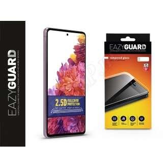 Samsung Galaxy S20 FE 5G gyémántüveg kijelzővédő fólia fekete színben